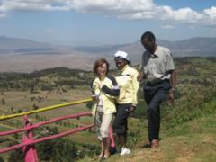 Ausblick ins Great Rift Valley